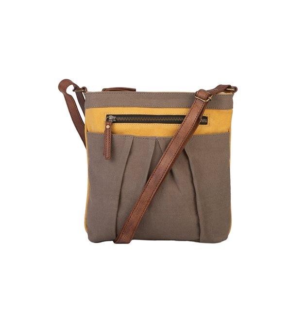 Mona B. Isla Crossbody Bag - Goldenrod Thumbnail
