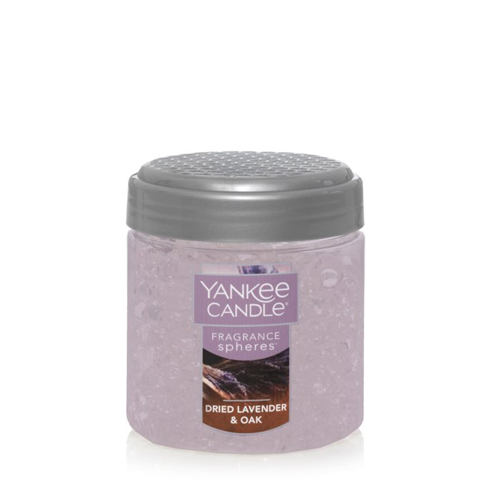 Yankee Candle Dried Lavender and Oak Fragrance Spheres Odor Neutralizing Beads Thumbnail
