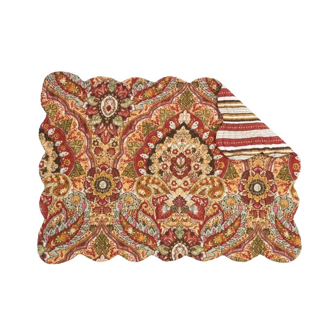 Mirabelle Rectangular Quilted Placemat Thumbnail