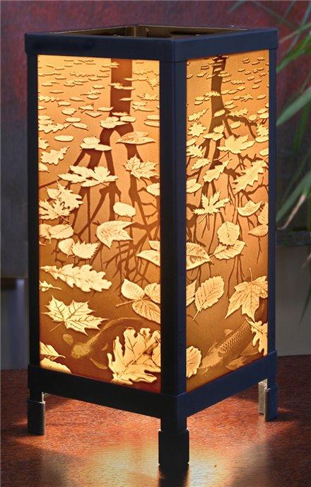Still Reflections Luminaire by Porcelain Garden Thumbnail
