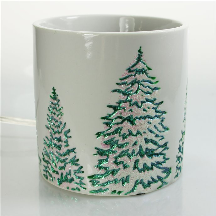 Yankee Candle Green Trees Scenterpiece Easy MeltCup Warmer Thumbnail