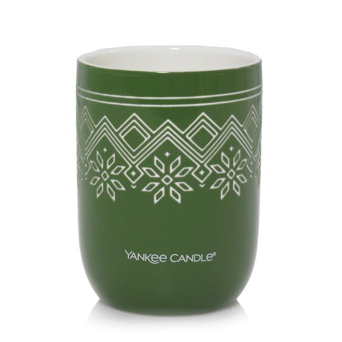 Yankee Candle Balsam & Cedar Nordic Design Ceramic Filled Candle Thumbnail