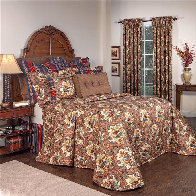 Royal Pheasant Full Bedspread Thumbnail