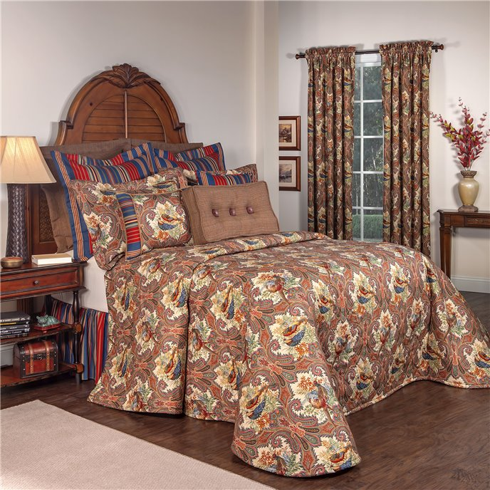 Royal Pheasant California King Bedspread Thumbnail