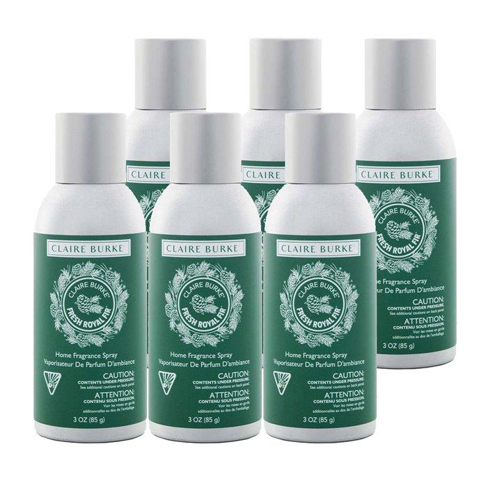 Claire Burke Fresh Royal Fir Home Fragrance Spray 6 Pack Thumbnail