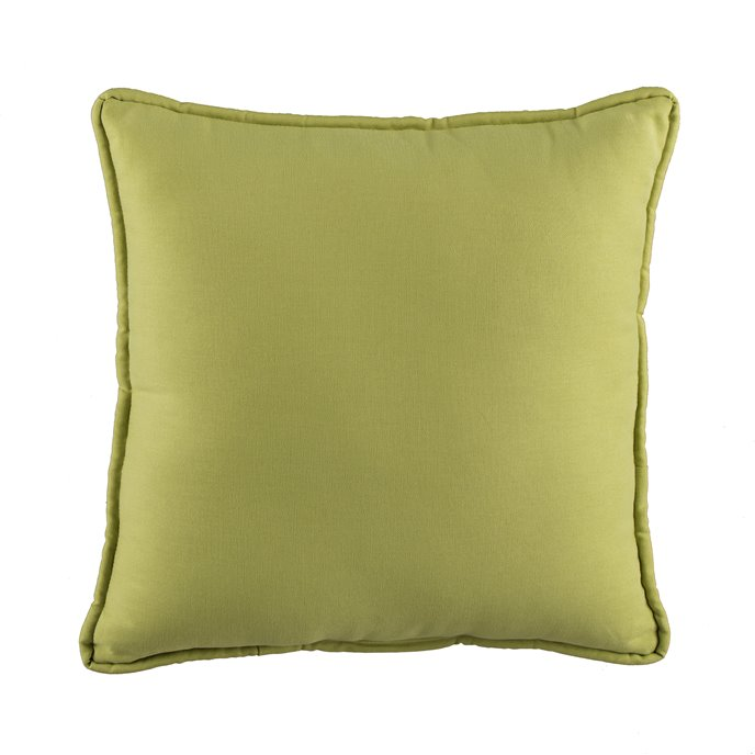 In the Sea Green Square Pillow Thumbnail