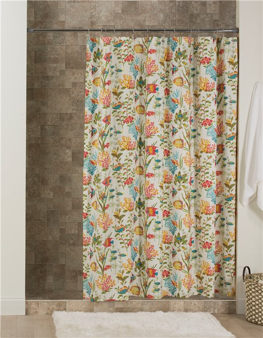 In the Sea Shower Curtain Thumbnail