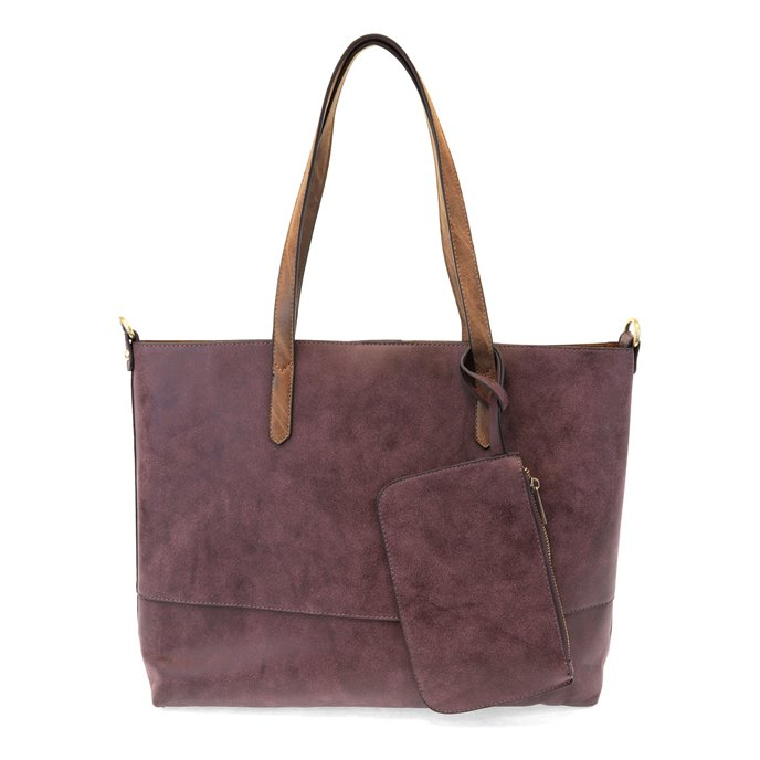 Brushed Aubergine 2-in-1 Tote Thumbnail