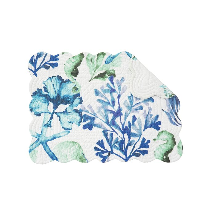 Bluewater Bay Rectangular Quilted Placemat Thumbnail