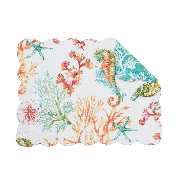 Chandler Cove Rectangular Quilted Placemat Thumbnail