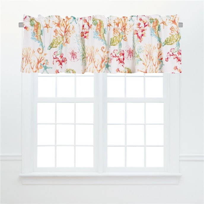 Chandler Cove Unlined Valance Thumbnail