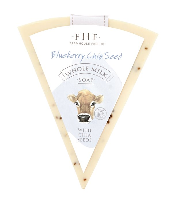 Farmhouse Fresh Blueberry Chia Seed Whole Milk Bar Soap Thumbnail