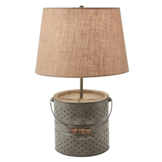Bait Bucket Lamp with Shade Thumbnail