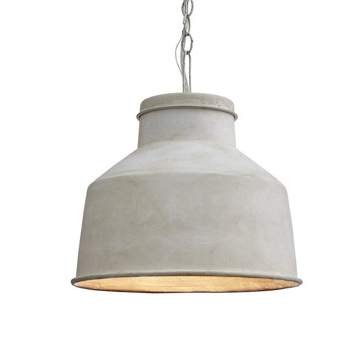 Cream Galvanized Pendant Light Thumbnail