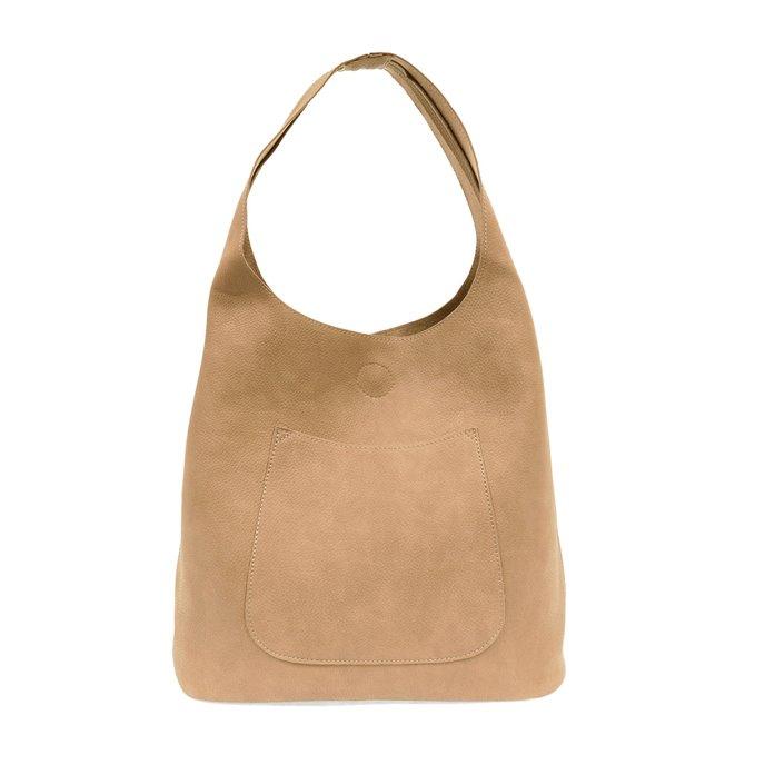 Camel Molly Slouchy Hobo Handbag Thumbnail