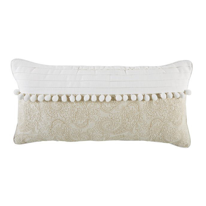 Croscill Cela Boudoir Pillow 22x11 Thumbnail
