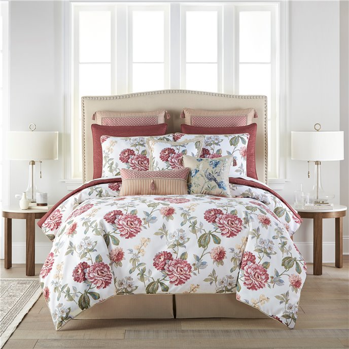 Croscill Fleur Queen 4PC Comforter Set Thumbnail