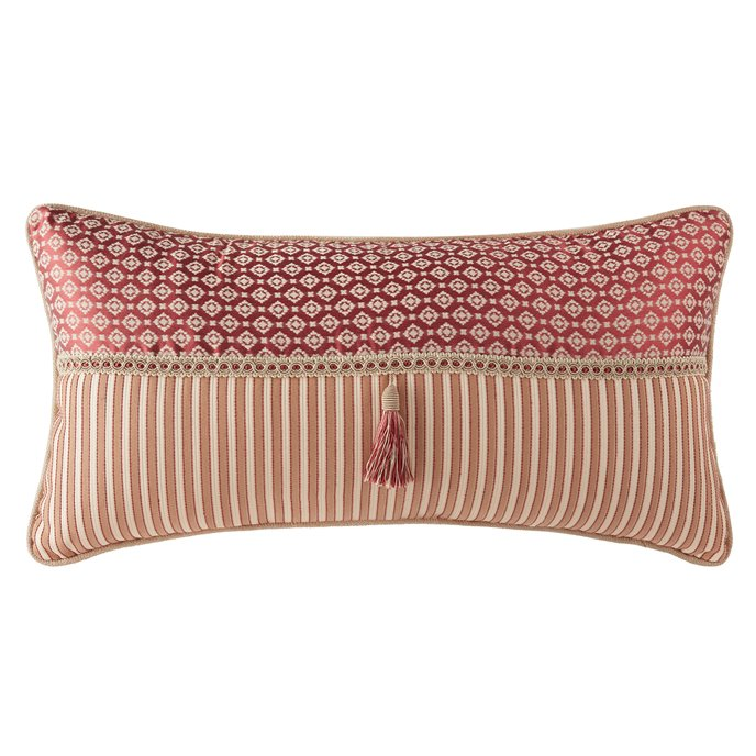 Croscill Fleur Boudoir Pillow 22X11 Thumbnail