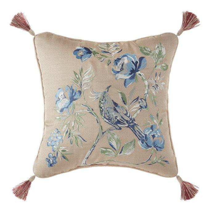 Croscill  Fleur Fashion Pillow 16X16 Thumbnail