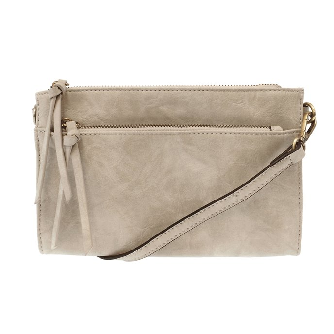 Dove Grey CeCe Vintage Crossbody Bag Thumbnail