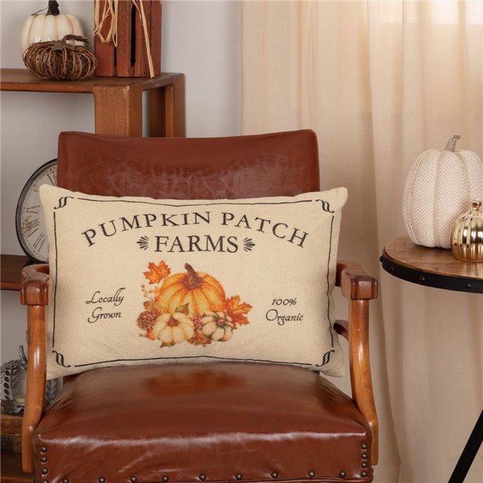 Fall on the Farm Pumpkin Patch Pillow 14x22 Thumbnail