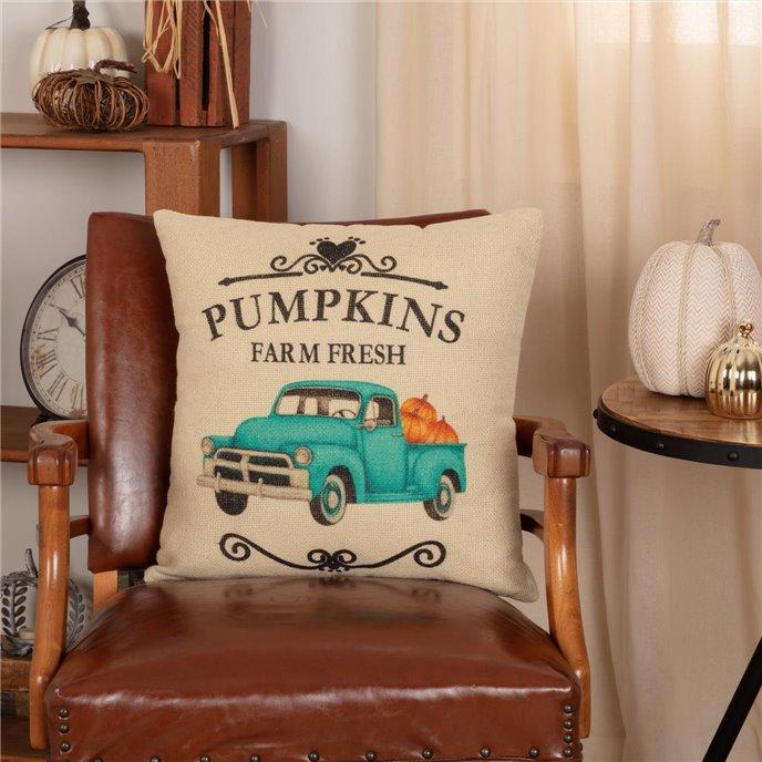 Fall on the Farm Truck Pillow 18x18 Thumbnail