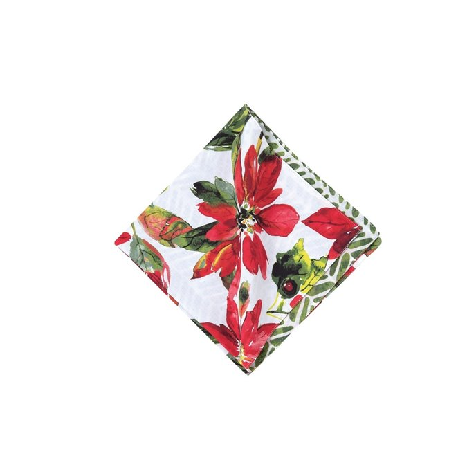 Poinsettia Berries Napkin Thumbnail