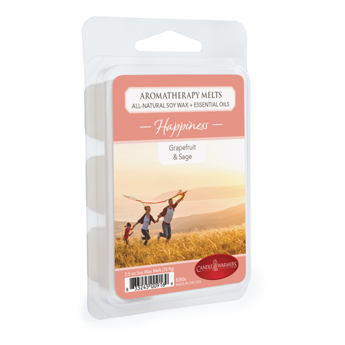 Happiness 2.5 Oz Aromatherapy Wax Melts Thumbnail