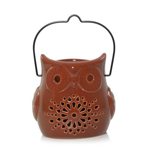 Yankee Candle Pierced Owl Lantern Jar Candle Holder Thumbnail