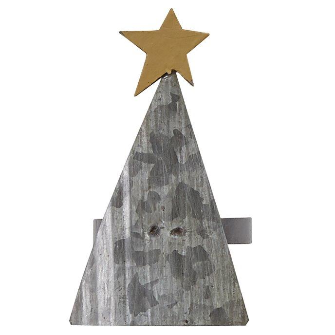 Metal Christmas Tree Napkin Ring Thumbnail