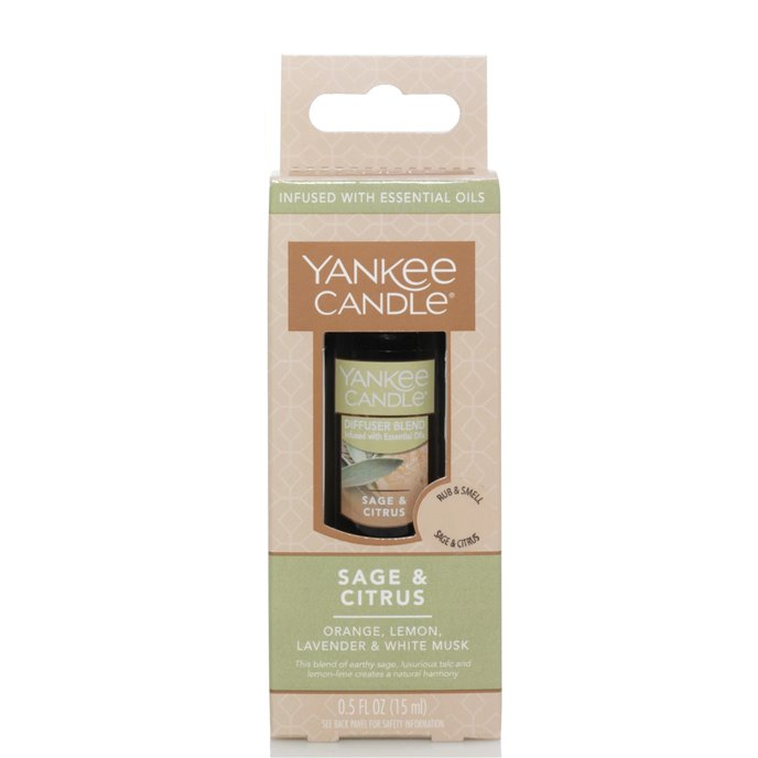 Yankee Candle Sage & Citrus Aroma Oil Home Fragrance Thumbnail