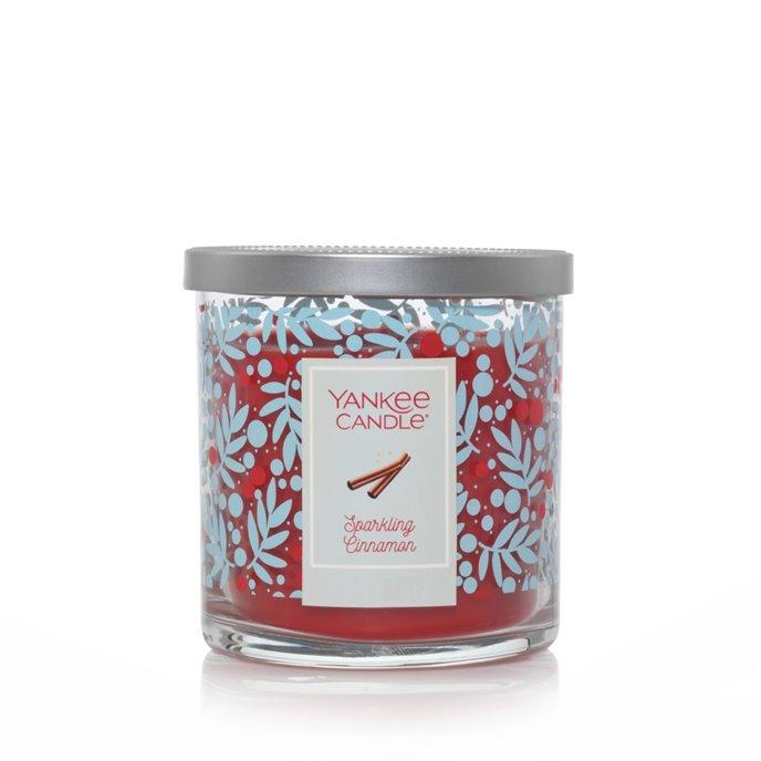 Yankee Candle Sparkling Cinnamon Regular Tumbler Candle Limited Edition Holiday Jar Thumbnail