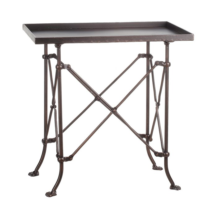 """20"""" Metal Rectangle Accent Table Thumbnail"""