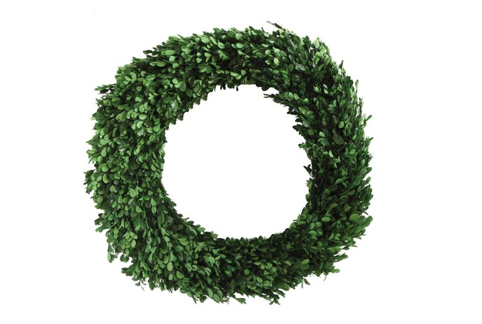 Preserved Boxwood Wreath Thumbnail