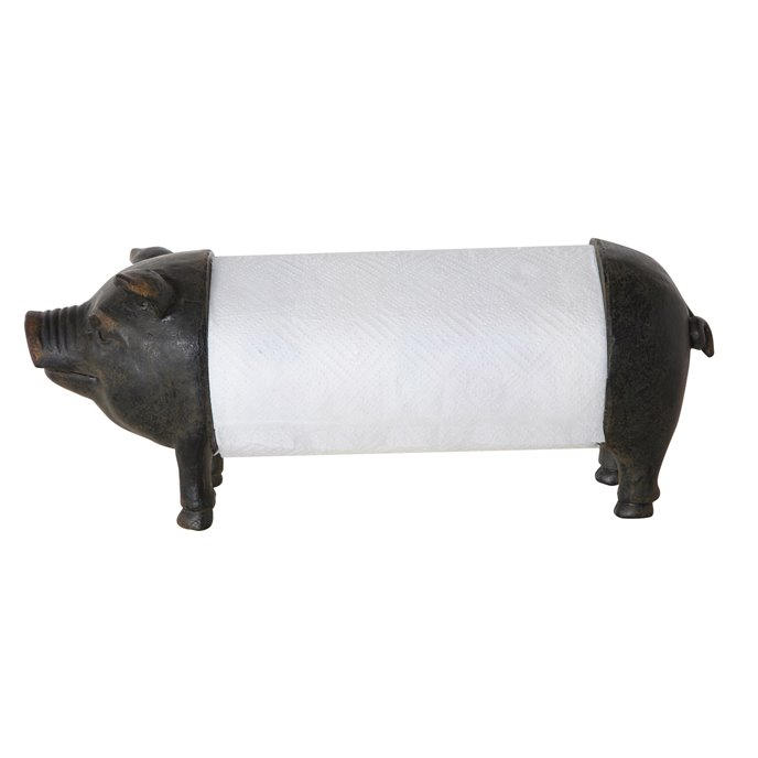 Pig Paper Towel Holder Thumbnail