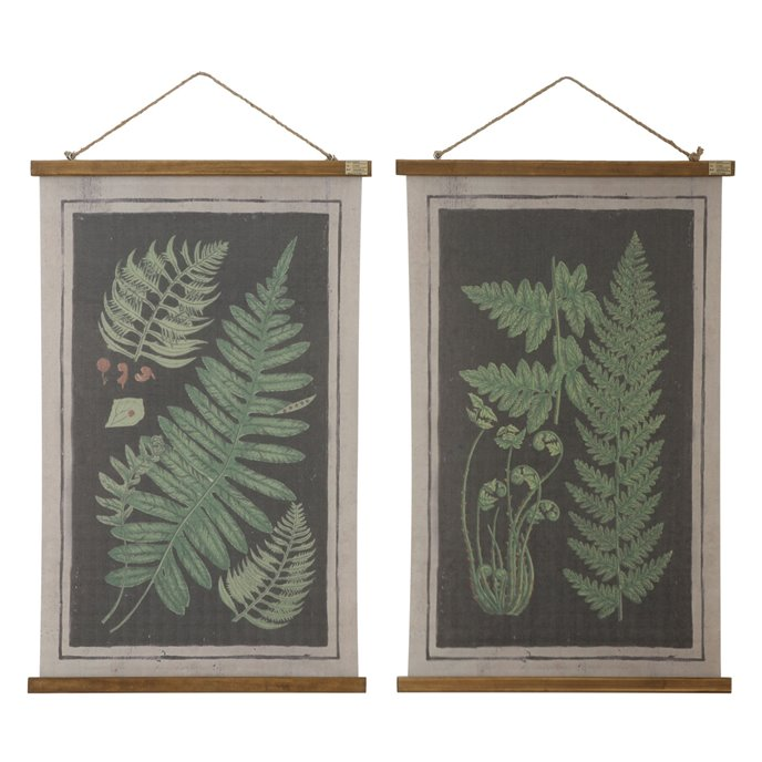 Fern Scrolls Wall Décor (Set of 2 Designs) Thumbnail