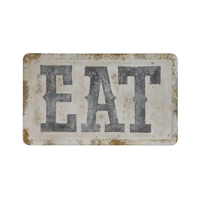 """""""EAT"""" Metal Wall Décor Thumbnail"""