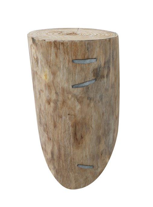 Large Distressed Log Wall Shelf Thumbnail