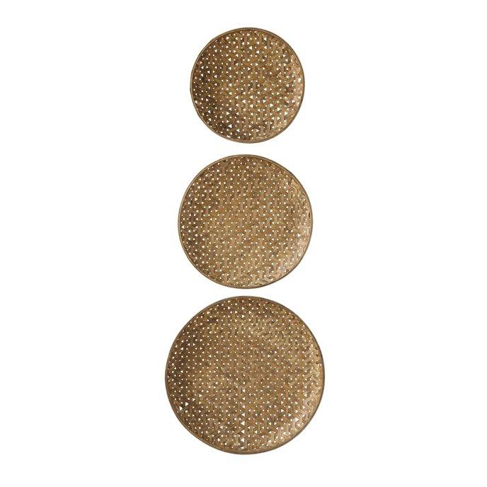 Round Bamboo Baskets (Set of 3 Sizes) Thumbnail