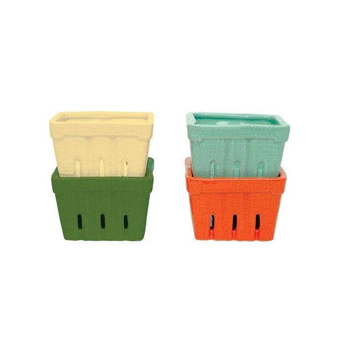 Stoneware Berry Baskets (Set of 4 Colors) Thumbnail
