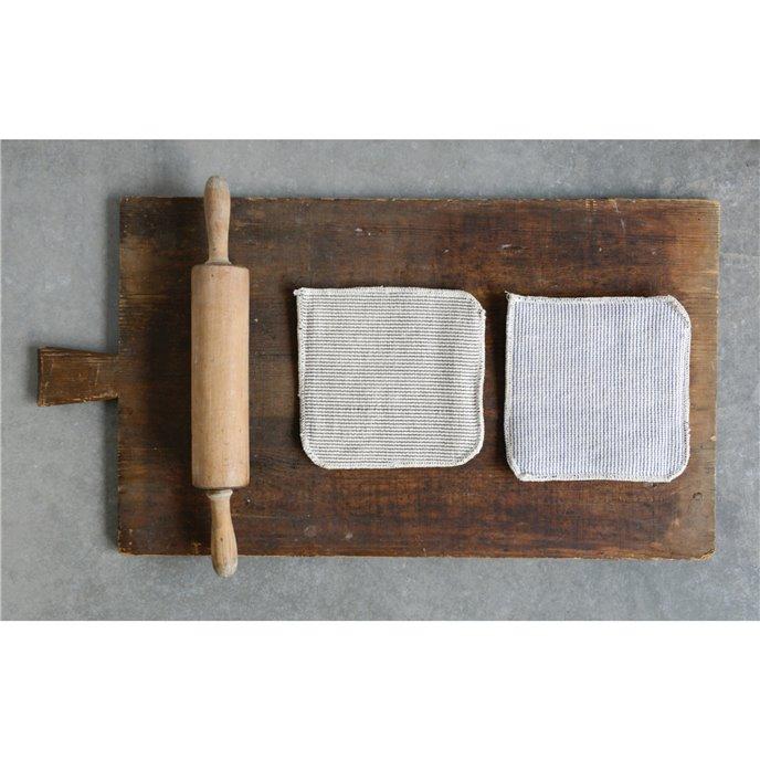 Square Cotton Pot Holder (Set of 2 Colors) Thumbnail