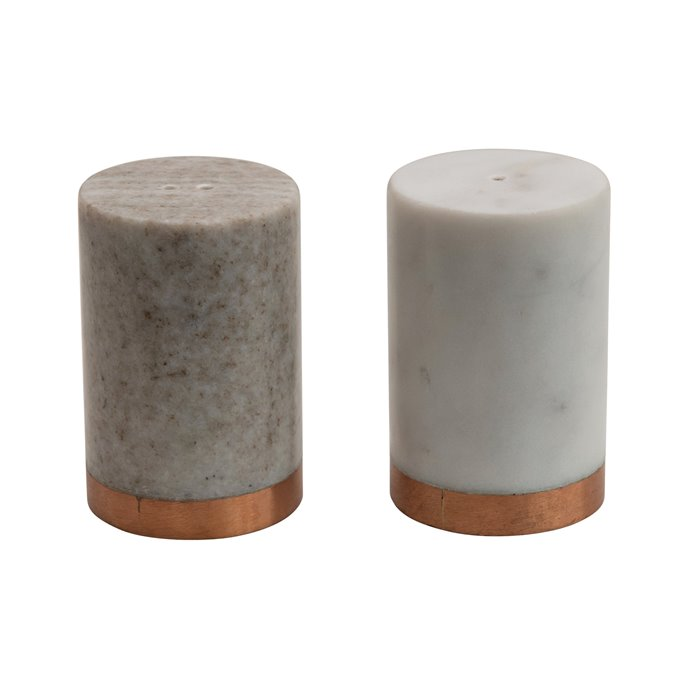 Marble Salt and Peper Shakers (Set of 2) Thumbnail