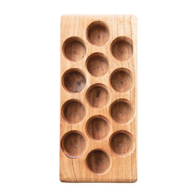 Acacia Wood Egg Tray Thumbnail