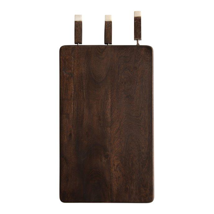 Acacia Wood Entertaining Board with Knives Thumbnail