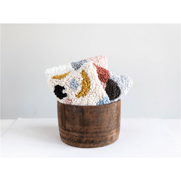 Cotton Punch Hooked Vigo Zip Pouch (Assortment of 3 Styles) Thumbnail