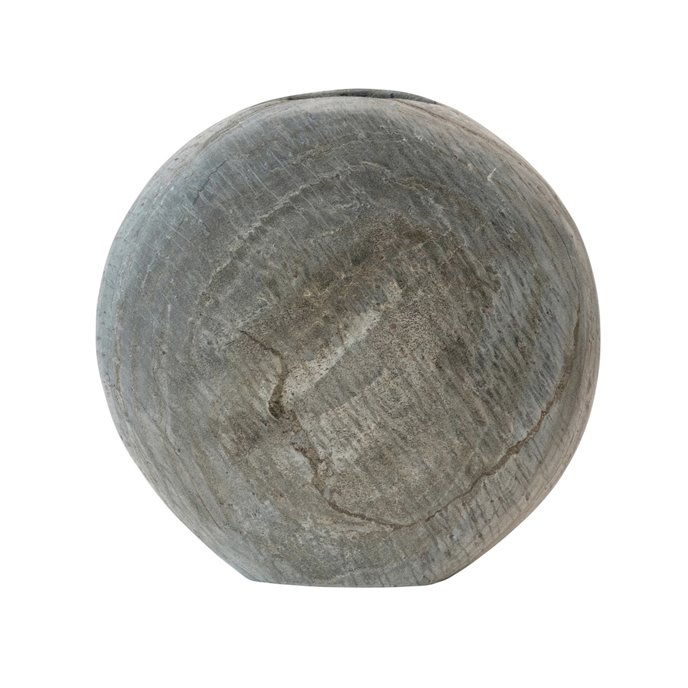 Natural Slate Vase, Grey (Each One Will Vary) Thumbnail