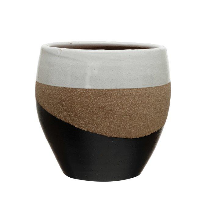 "Terra-cotta Planter, Multi Color (Holds 7"" Pot) Thumbnail"