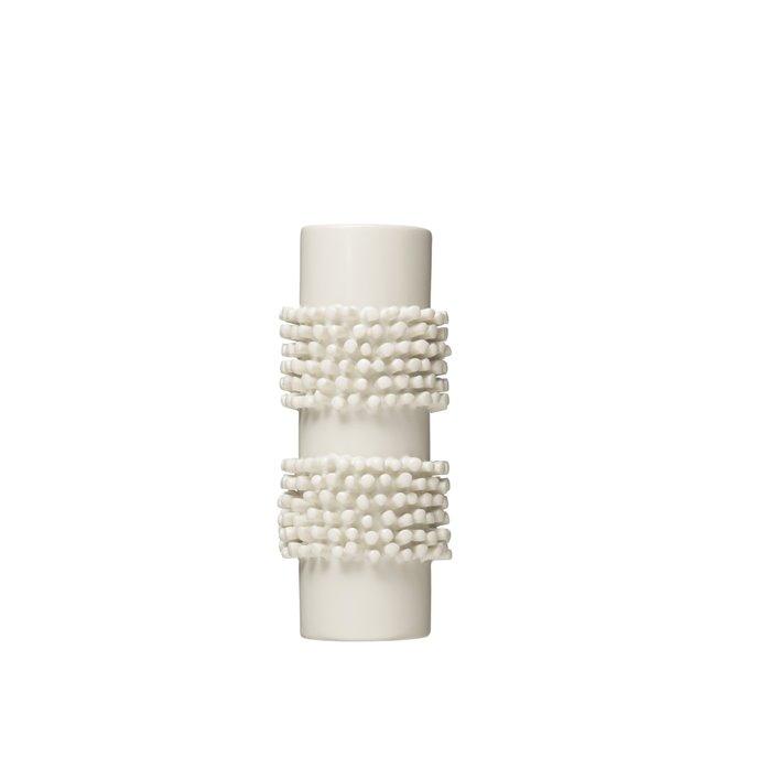 "Handmade 8""H Poodle Cut Stoneware Vase Thumbnail"