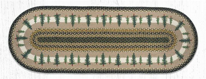 Tall Timbers Oval Braided Rug 2'x6' Thumbnail