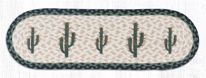 "Saguaro Oval Braided Stair Tread 27""x8.25"" Thumbnail"